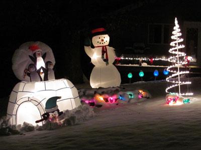 Weihnachtsdeko Lichterketten Außen.Weihnachtsdeko Aussen Gartenweb